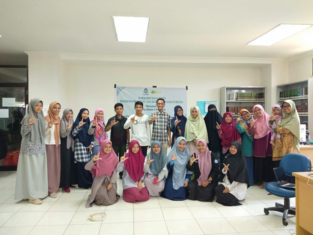 Civitas Akademika Jurusan Kimia Mengikuti Workshop Mendeley dan Deteksi Plagiasi Turnitin