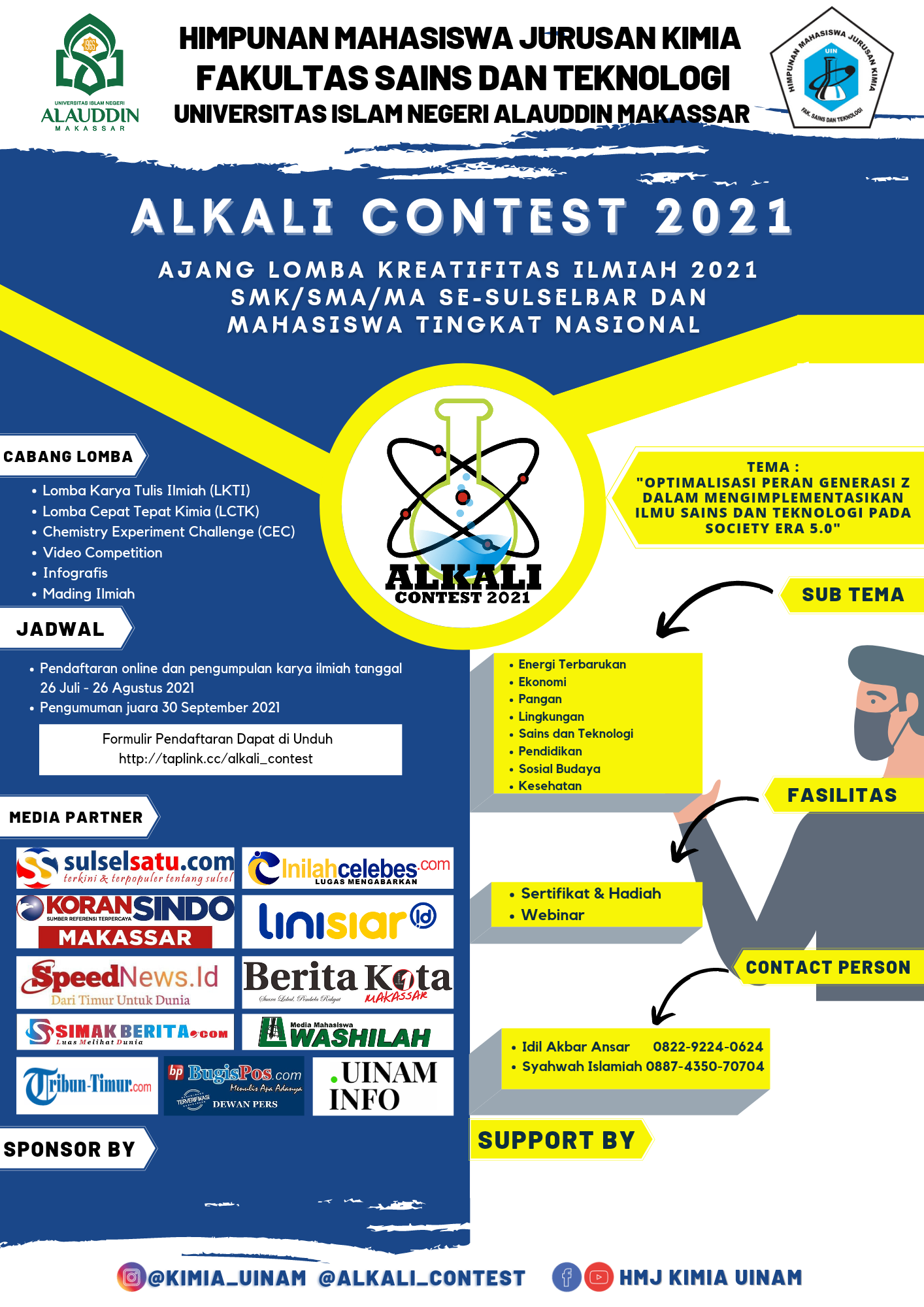 H-1 Jelang Alkali Contest 2021