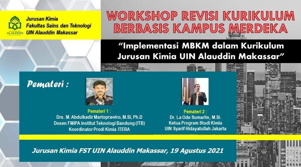 Workshop Revisi Kurikulum 19 Agustus 2021